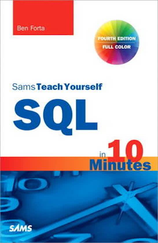 SQL basis training